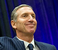 Starbucks CEO Howard Schultz received the 2013 Kellogg Award of Distinguished Leadership on May 20.