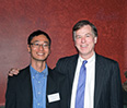 Andrew Youn '06 and Prof. Harry Kraemer '79