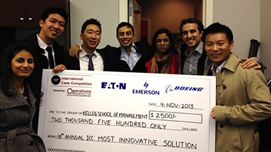 "Tepper Case Competition ""Most Innovative"" winners"