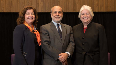 Northwestern hosts former Fed chair
