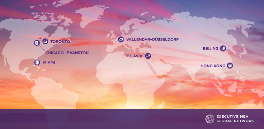 Kellogg Executive MBA Global Network | Kellogg Executive MBA